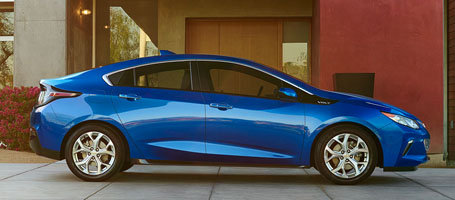 2016 Chevrolet Volt performance