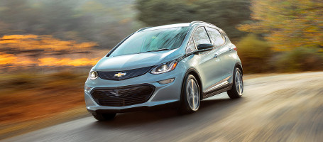 2017 Chevrolet Bolt EV aerodynamics