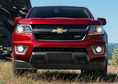 2017 Chevrolet Colorado grille