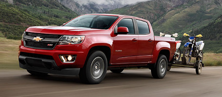 2017 Chevrolet Colorado performance