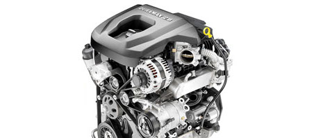 2017 Chevrolet Colorado engine