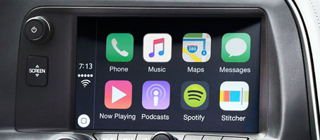 2017 Chevrolet Corvette Apple CarPlay