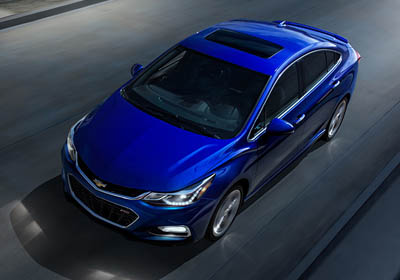 2017 Chevrolet Cruze appearance