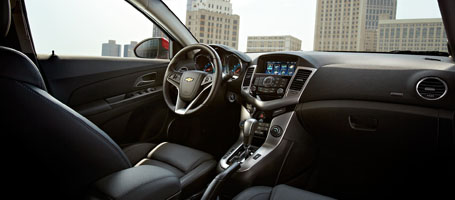 2017 Chevrolet Cruze engine