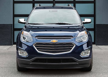 2017 Chevrolet Equinox grille