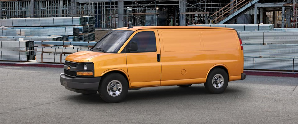 2017 Chevrolet Express Cargo Appearance Main Img
