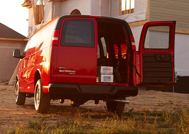 2017 Chevrolet Express Cargo Doors