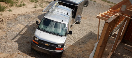 2017 Chevrolet Express Cargo performance