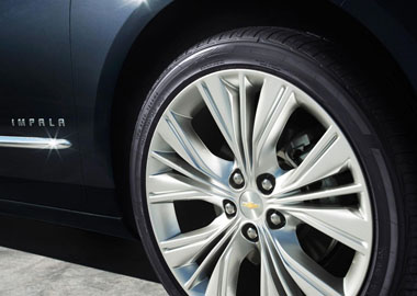 2017 Chevrolet Impala Wheels