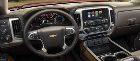 2017 Chevrolet Silverado 2500HD Steering