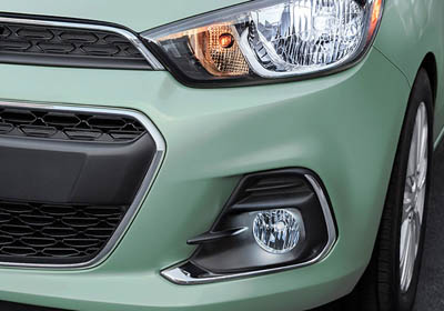 2017 Chevrolet Spark headlamps