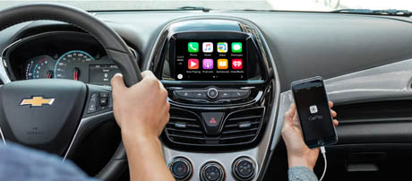 2017 Chevrolet Spark touch-screen