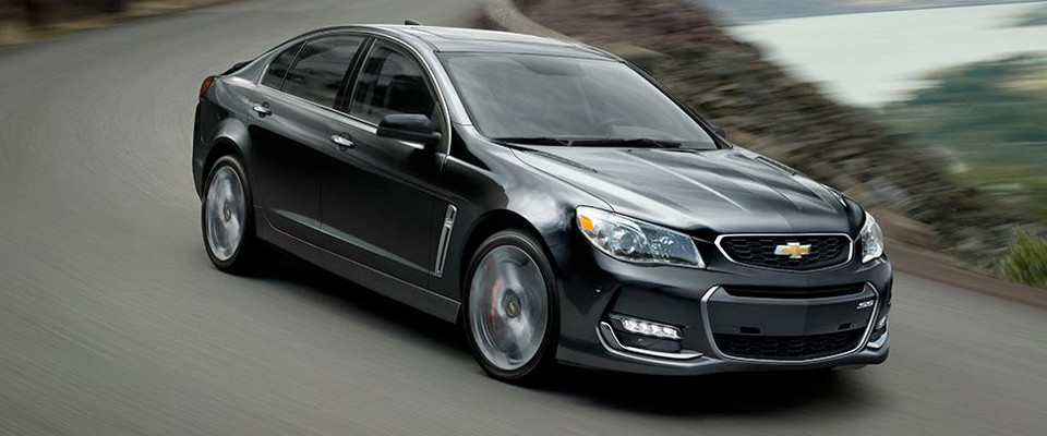 2017 Chevrolet SS Sedan Appearance Main Img