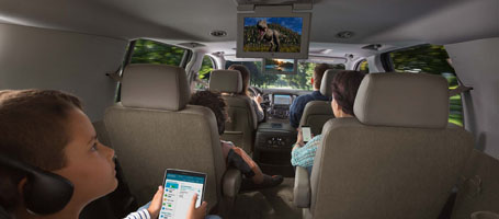 2017 Chevrolet Suburban Rear-Seat Entertainment System