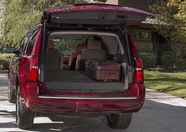 2017 Chevrolet Tahoe liftgate