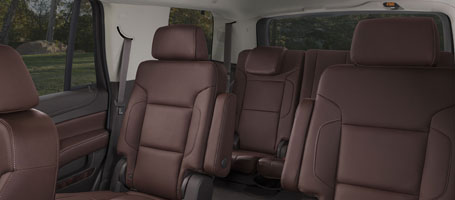 2017 Chevrolet Tahoe Seating