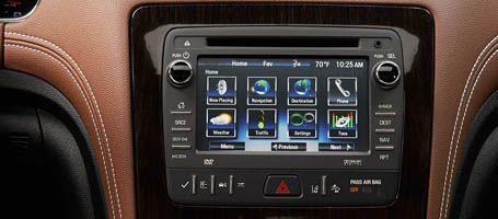 2017 Chevrolet Traverse Touch Screen