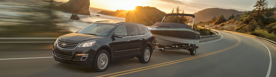 2017 Chevrolet Traverse trailering