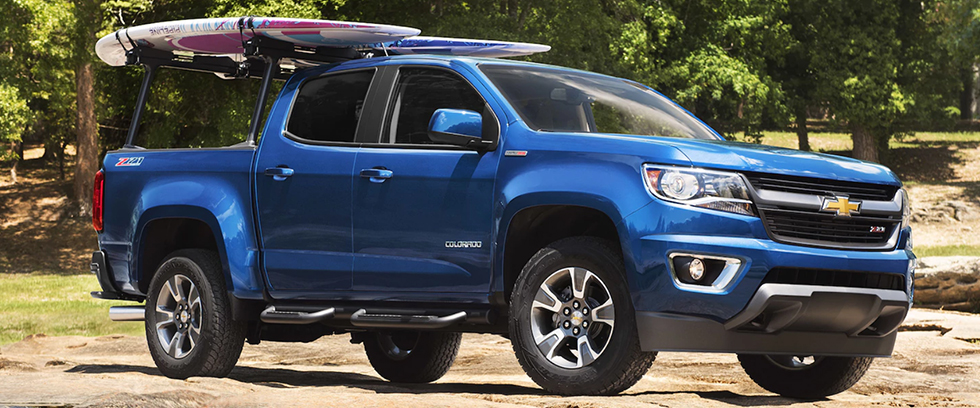 2018 Chevrolet Colorado Appearance Main Img
