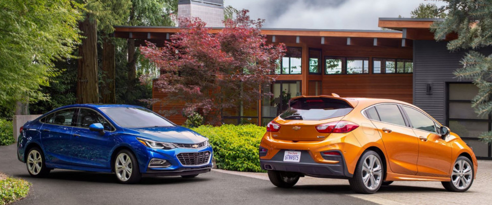 2018 Chevrolet Cruze Appearance Main Img