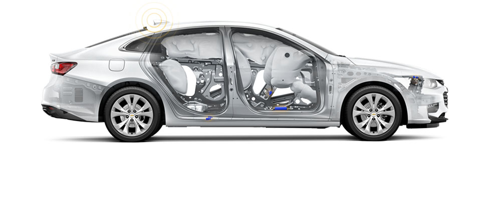 2018 Chevrolet Malibu Safety Main Img