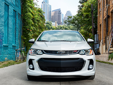 2018 Chevrolet Sonic appearance