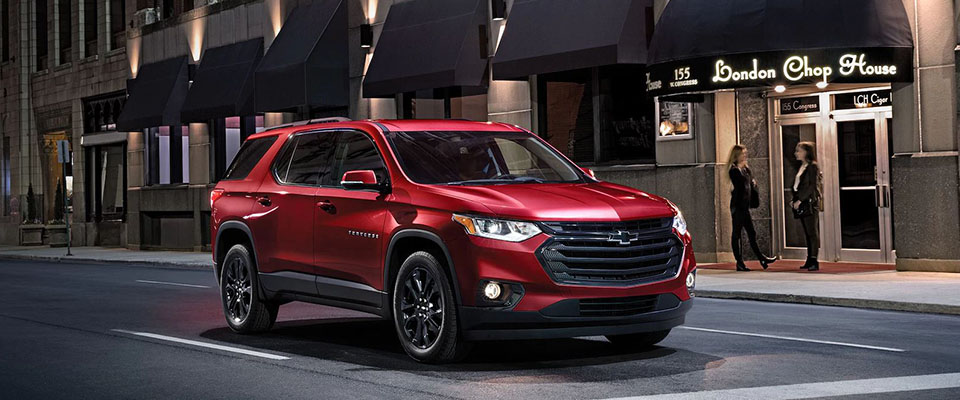 2018 Chevrolet Traverse Main Img