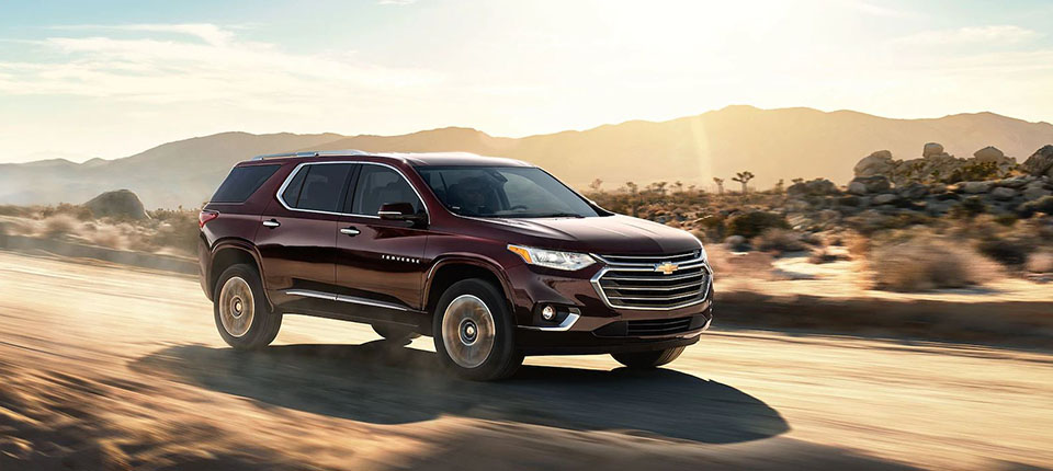 2018 Chevrolet Traverse Safety Main Img