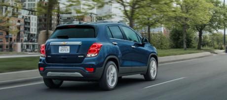 2018 Chevrolet Trax performance