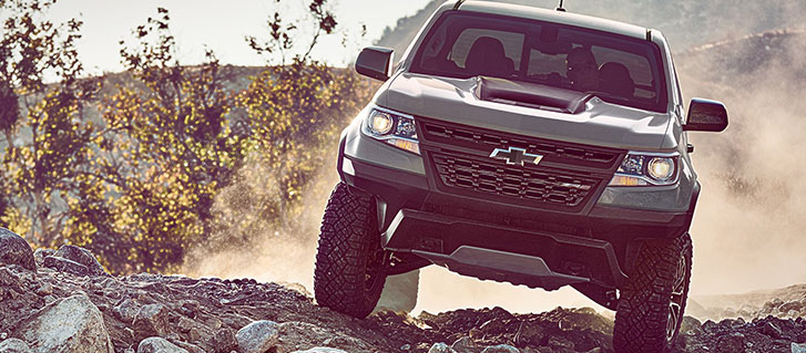 Colorado ZR2: Hit The Road, Then The Trails