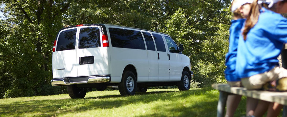 2019 Chevrolet Express Passenger Safety Main Img