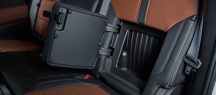 Rear-Seatback Storage