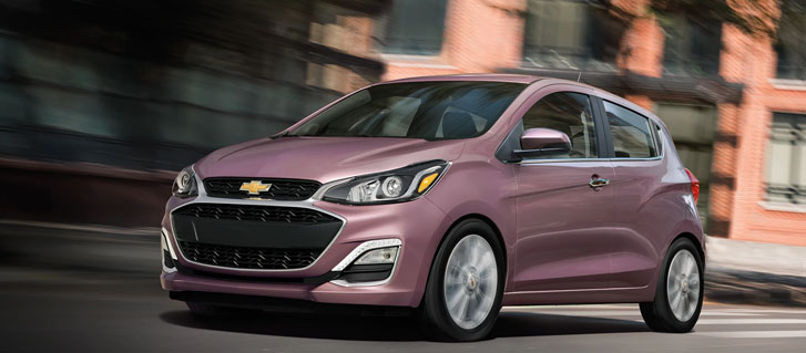 2019 Chevrolet Spark performance