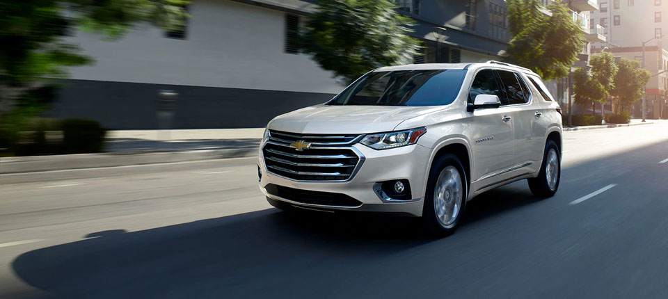 2019 Chevrolet Traverse Safety Main Img