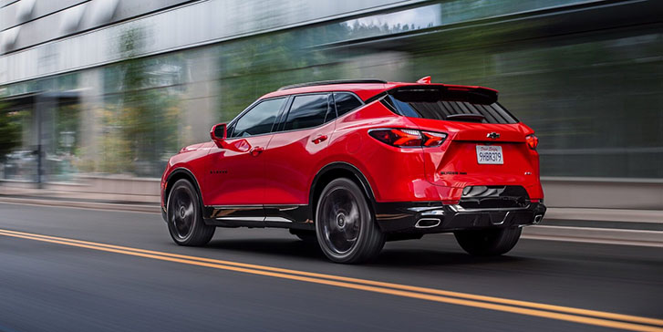 2020 Chevrolet Blazer performance