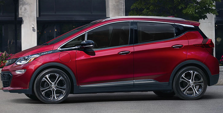 2020 Chevrolet Bolt EV appearance
