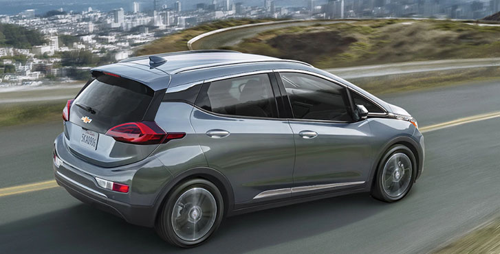 2020 Chevrolet Bolt EV performance