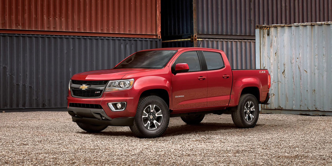 2020 Chevrolet Colorado Appearance Main Img