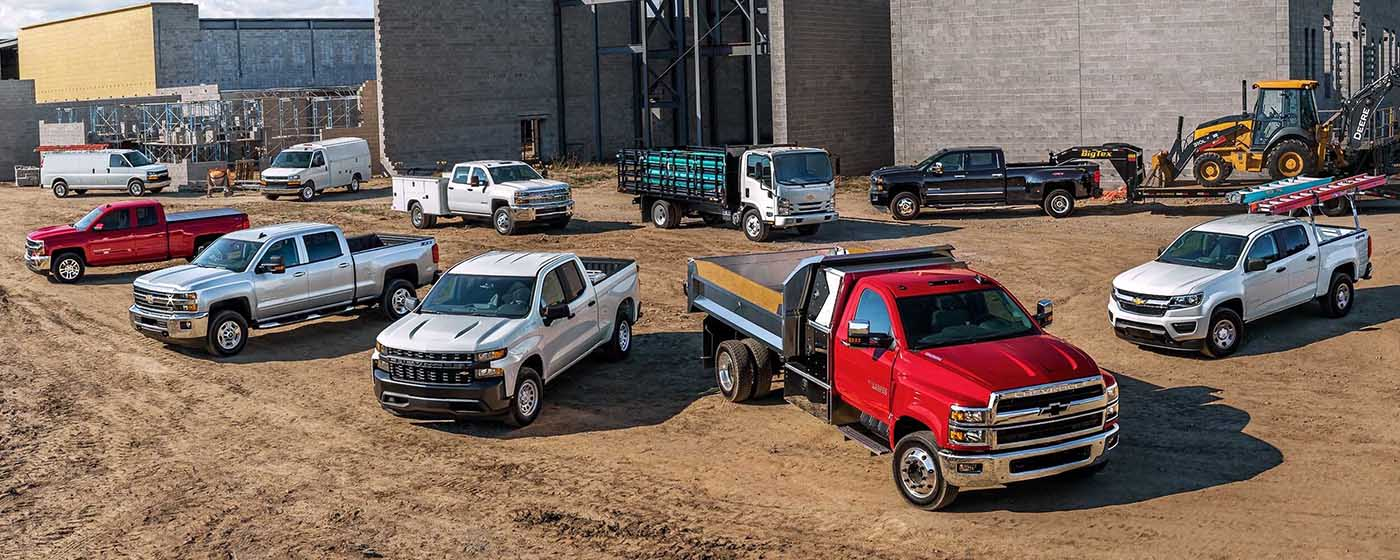 2020 Chevrolet Commercial Trucks Main Img