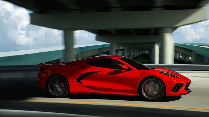 2020 Chevrolet Corvette performance