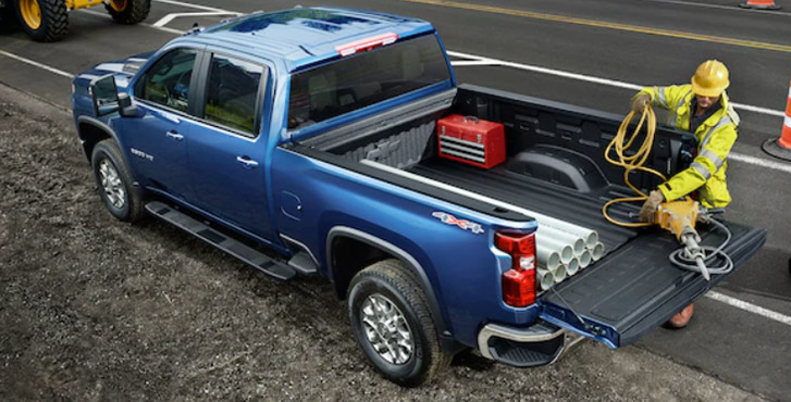 2020 Chevrolet Silverado 2500HD performance