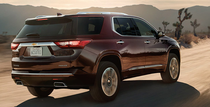 2020 Chevrolet Traverse performance