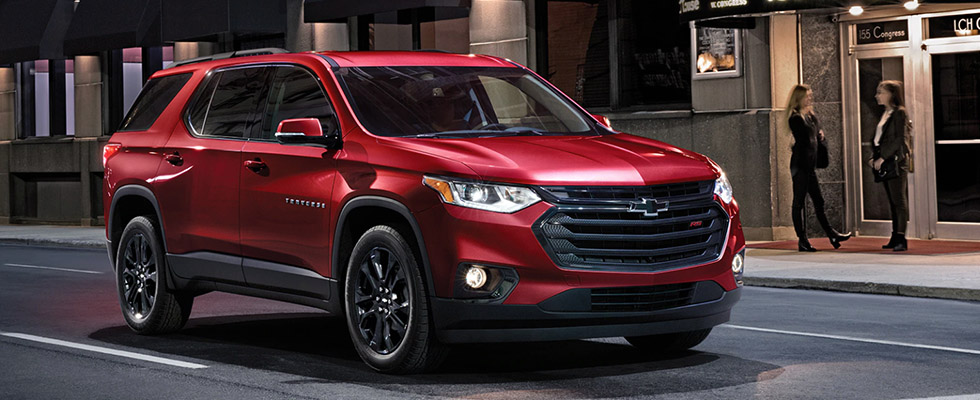 2020 Chevrolet Traverse Safety Main Img