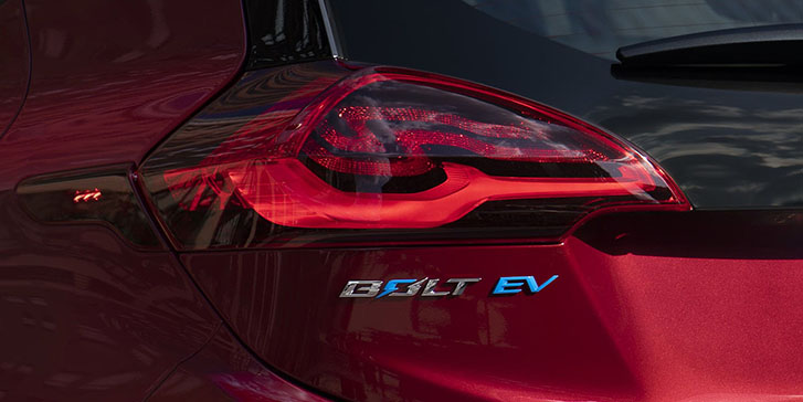 2021 Chevrolet Bolt EV appearance
