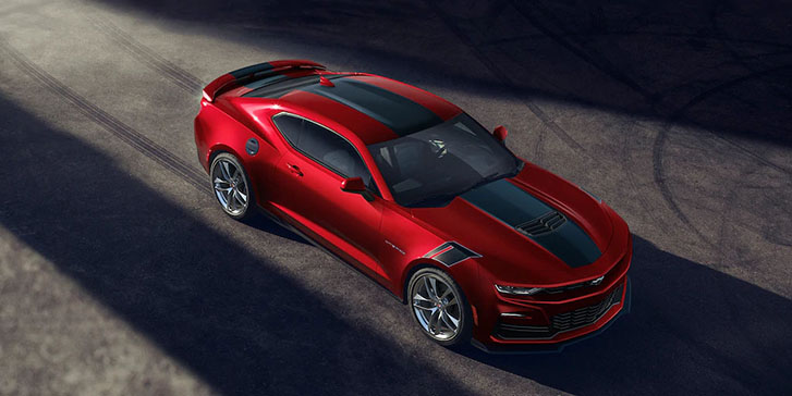 2021 Chevrolet Camaro appearance