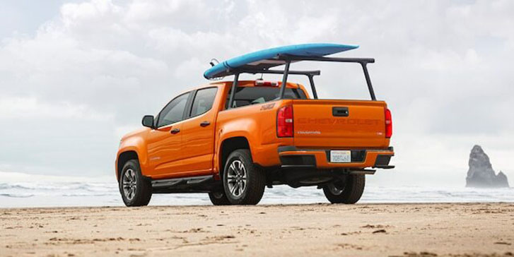 2021 Chevrolet Colorado appearance