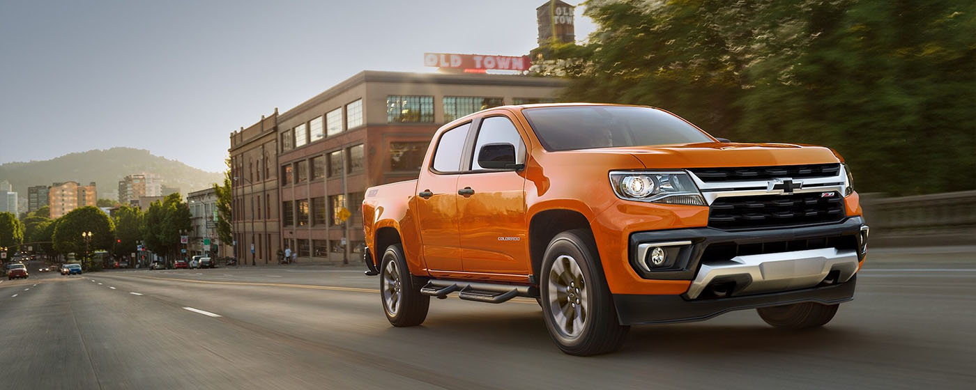 2021 Chevrolet Colorado Main Img