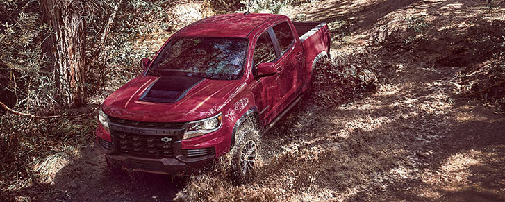 2021 Chevrolet Colorado performance