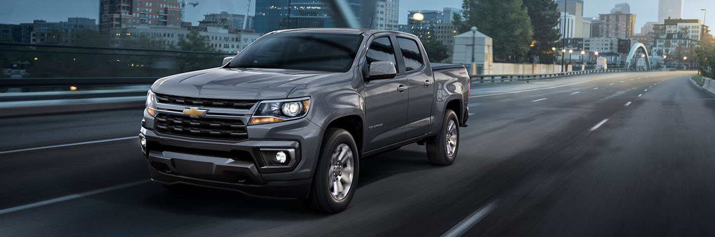 2021 Chevrolet Colorado Safety Main Img