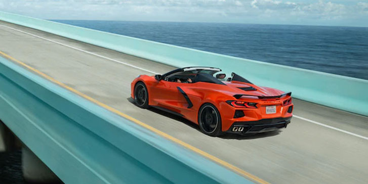 2021 Chevrolet Corvette appearance
